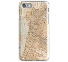 Vintage Map of Montreal (1906) iPhone Case/Skin