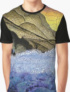 where rock and sea meet. Graphic T-Shirt