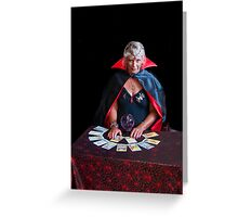 Tarot Card Lady Greeting Card