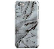 Snow Covered Tree iPhone Case/Skin