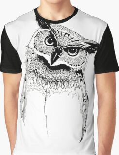 Owl (What A Hoot) Graphic T-Shirt