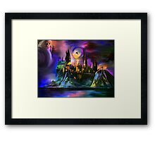 The Magic castle. Framed Print