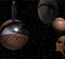 Universe becoming conscious of itself  by Lawrence Alfred Powell