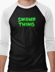 Swampy Thing - Green  Men's Baseball ¾ T-Shirt