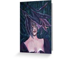 Lily Lady Greeting Card