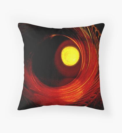 Indian Pottery - Earth, Air, Fire Throw Pillow