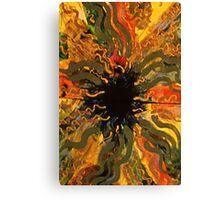 Flash of Energy II Canvas Print