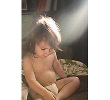 Sun Baby Photographic Print