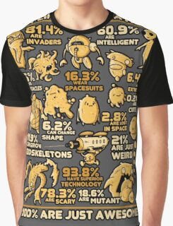 Alien Statistics Graphic T-Shirt