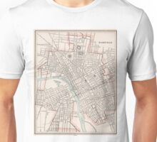 Vintage Map of Nashville Tennessee (1901) Unisex T-Shirt