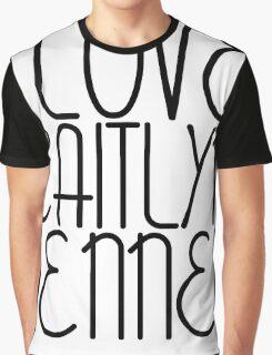 I LOVE CAITLYN JENNER [BLACK] Graphic T-Shirt