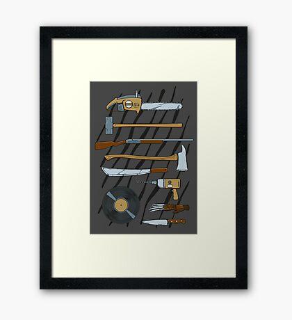 Horrible Weapons Framed Print