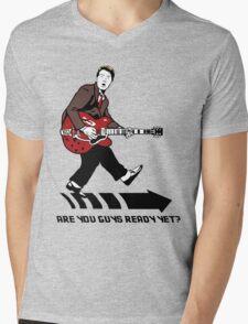 Marty Mcfly Johnny B Goode Mens V-Neck T-Shirt