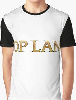 Top Lane League of Legends Graphic T-Shirt