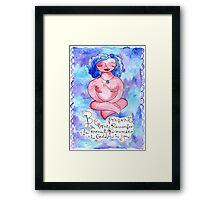 Be Present Framed Print