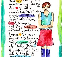 Goddess of Abundance by GoddessLeonie