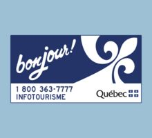 Welcome to Quebec, Canada Road Sign One Piece - Short Sleeve