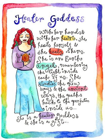 Healer Goddess by GoddessLeonie