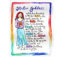 Healer Goddess Poster