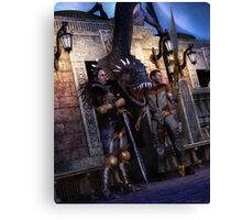 The Serpent Guard Canvas Print