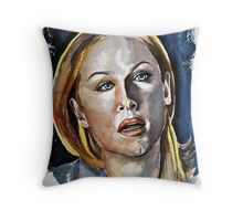 Kate (Elisabeth Rohm), featured in The Group Throw Pillow