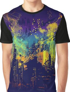 grid city Graphic T-Shirt