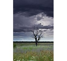 Oh Stormy Skies Photographic Print