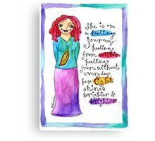 Healing Goddess Canvas Print