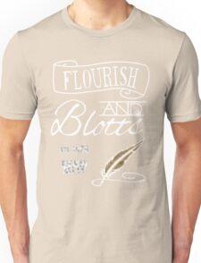 Flourish & Blotts. Unisex T-Shirt
