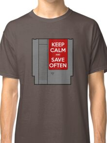 Keep Calm, Save Often Classic T-Shirt