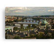 Bridges of Prague Canvas Print