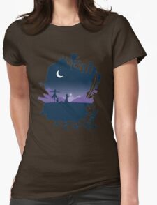 Midnight Womens Fitted T-Shirt