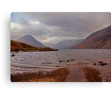 Choppy Waters - Wastwater Canvas Print