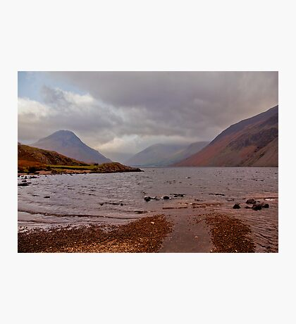 Choppy Waters - Wastwater Photographic Print