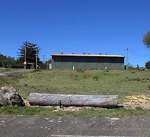 North Head Manly - army shed by miroslava