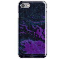 USGS Topo Map Washington State WA Cahill Mtn 240295 1976 24000 Inverted iPhone Case/Skin