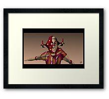 Camera Cyborg Framed Print