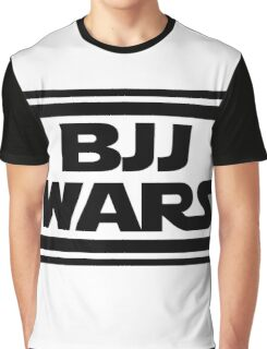 Brazilian Jiu Jitsu Wars Graphic T-Shirt
