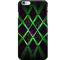 Green Lines iPhone Case/Skin