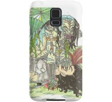 Predator and his lady Samsung Galaxy Case/Skin