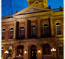 Courthouse in Goshen, Indiana USA  by jammingene