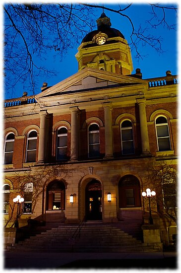 Courthouse in Goshen, Indiana USA  by jammingene