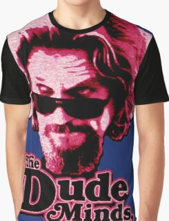 Big Lebowski Pink Graphic T-Shirt