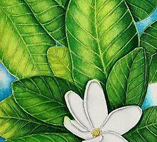 Tahitian Gardenia by joeyartist