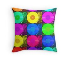 Technics 2010 Multi Colour Throw Pillow