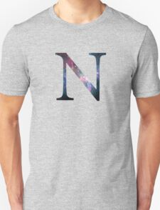 Nu Greek Letter  Unisex T-Shirt