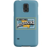 Welcome to Missouri, Vintage Road Sign 50s  Samsung Galaxy Case/Skin