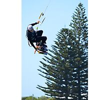Kite Surfing - Shoalwater Photographic Print