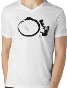 Last Enso Mens V-Neck T-Shirt