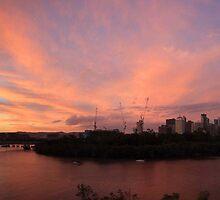 Brisbane Sunset by Tim Harper